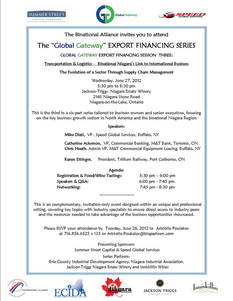 Export Series Invitation June