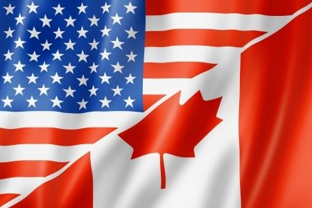 U.S.-Canada borders